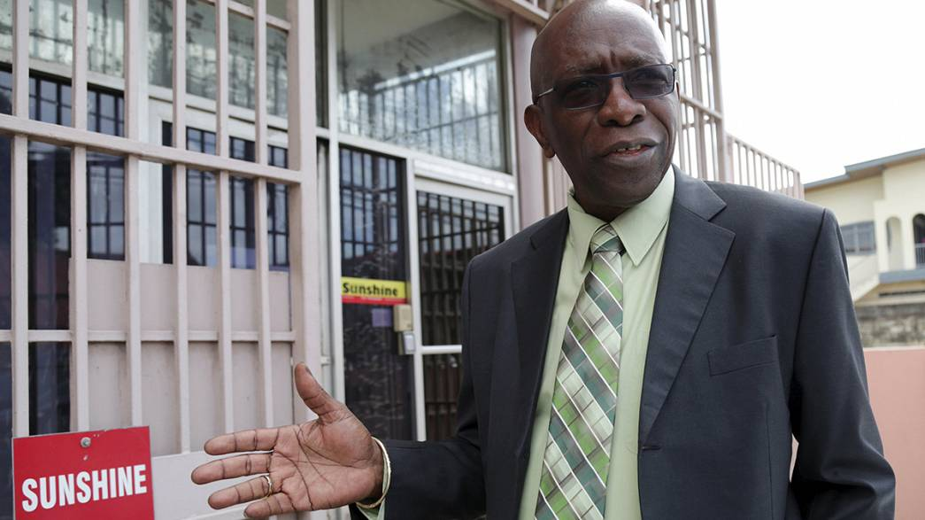 Jack Warner turns himself in after being accused of corruption in FIFA scandal