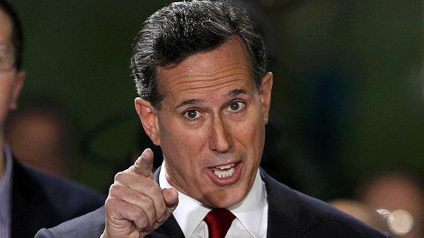 EUA: Rick Santorum de novo a caminho da Casa Branca