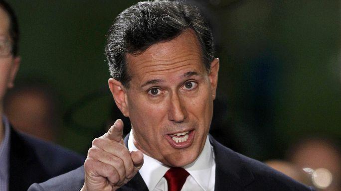 ABD'de Cumhuriyetçi Parti'den Rick Santorum başkanlık yarışına katıldı