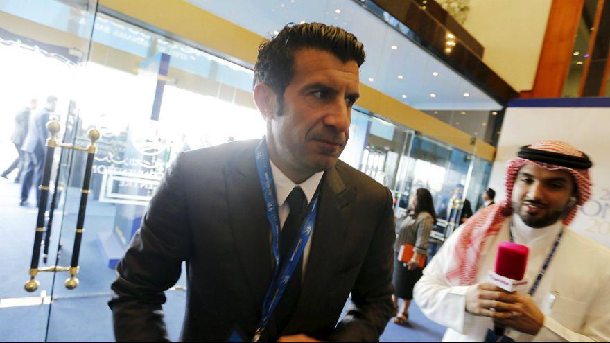 """Luís Figo: """"Um dos piores dias da história da FIFA"""""""