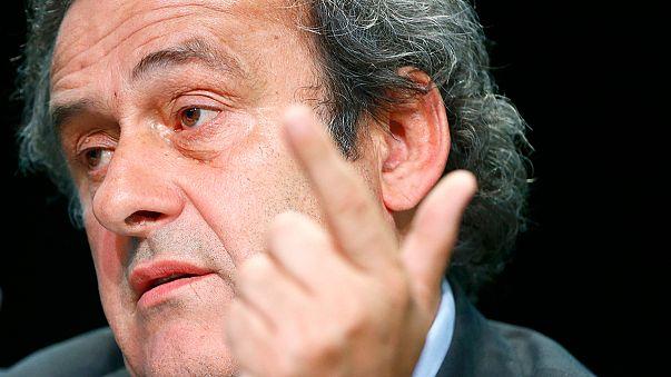 "UEFA-Chef Platini zu Blatter: ""Bitte, verlass die FIFA"""