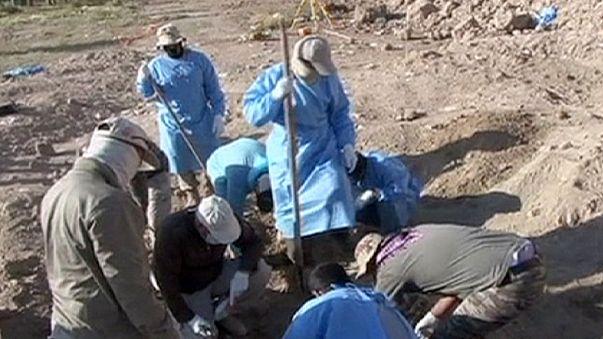 Feltárták a tömegsírokat Szaddám szülővárosában