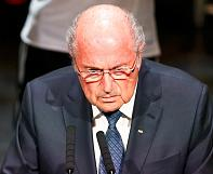 Sepp Blatter: corruption scandal casts 'long shadow over football'