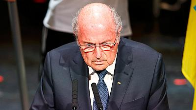Sepp Blatter: corruption scandal casts 'long shadow over football'