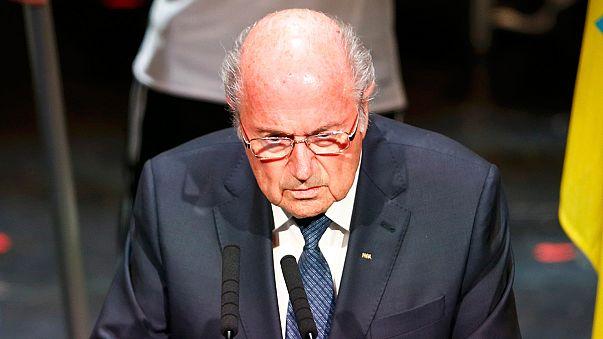 """Блаттер о скандале вокруг ФИФА: """"я не могу следить за каждым..."""""""