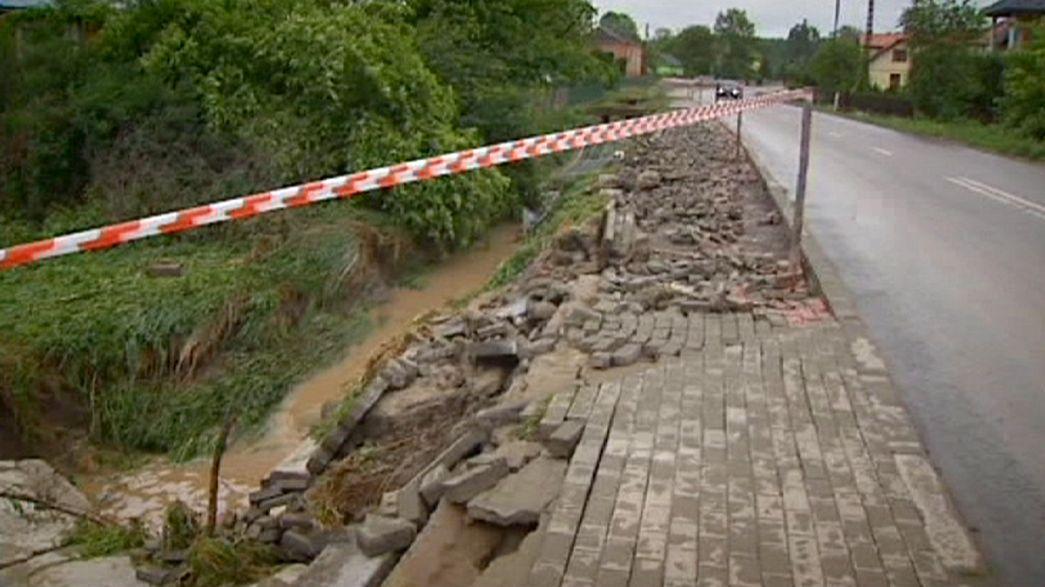 Mau tempo na Polónia arruina agricultores