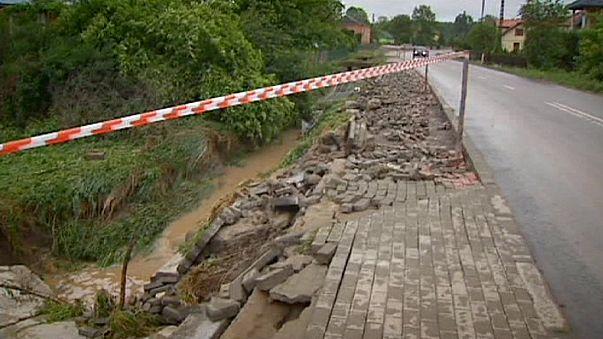Viharok tomboltak Lengyelországban