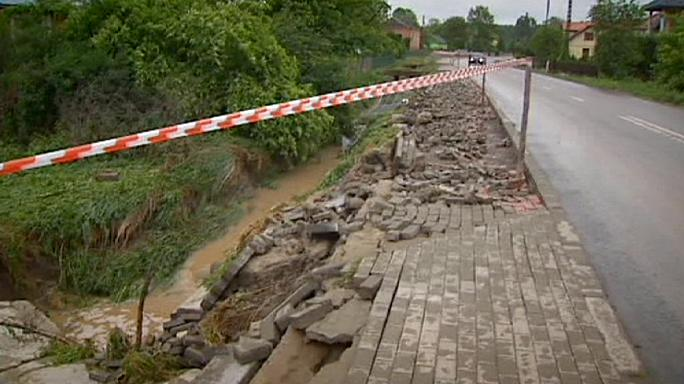 El Vístula amenaza con desbordarse en Polonia