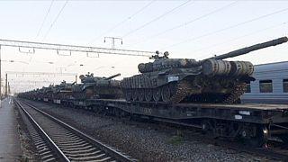 Russische Truppenbewegungen schüren Spekulationen über bevorstehende Kämpfe