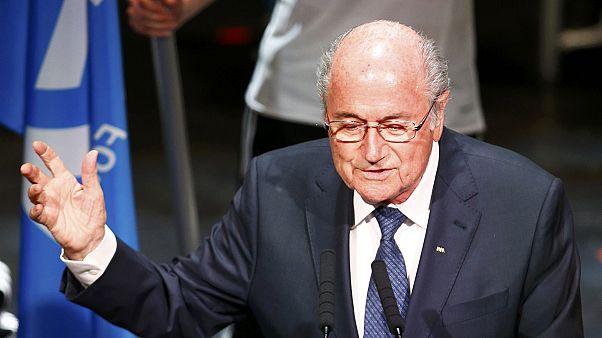 Blatter steht trotz Korruptionsskandal vor Wiederwahl zum FIFA-Präsidenten