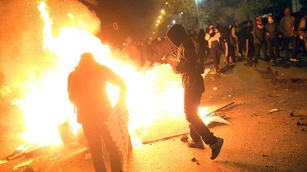 Erőszakba torkollott a chilei diáktüntetés
