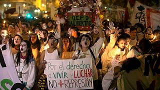 Chile: student protests turn violent