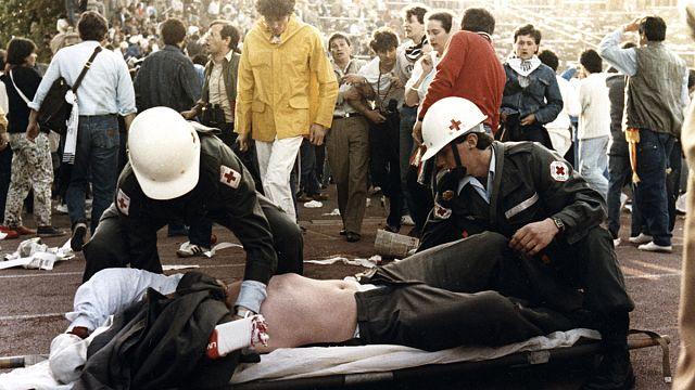 Homenaje a los 39 de Heysel en Bruselas