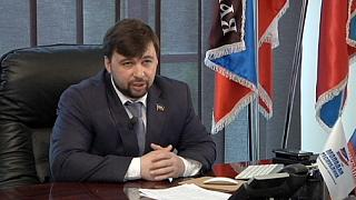 """Vizechef der Volksrepublik Donezk: """"Wir bestehen auf eine politische Lösung"""""""