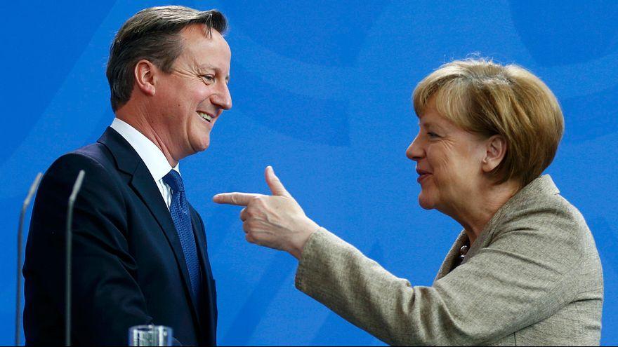 Cameron Berlin'de AB'de reform talebini yineledi