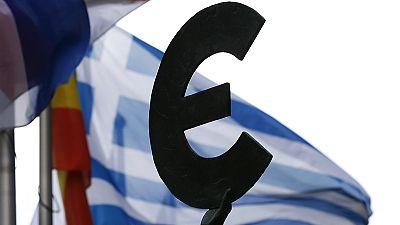 Greek debt looms large at Dresden G7