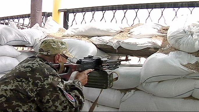 Ukrayna'nın gönüllü askerleri tetikte bekliyor