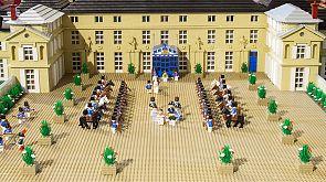 La batalla de Waterloo versionada por Lego