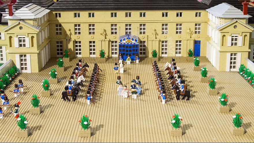 H Μάχη του Βατερλώ σε... Lego!