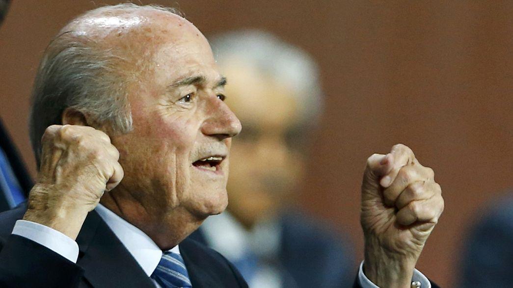 Joseph Blatter es reelegido a pesar del escándalo de corrupción que envuelve a la FIFA