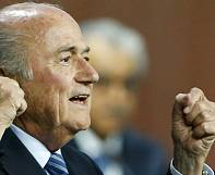 Blatter re-elected for fifth term as FIFA president