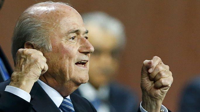 Sepp Blatter yeniden FIFA Başkanı seçildi