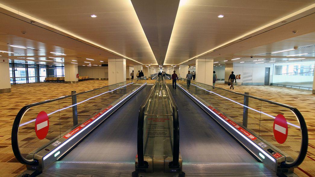 Téves radioaktiv riasztás Delhi repülőterén