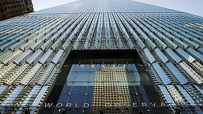 New York : inauguration de l'observatoire du World Trade Center