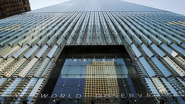 New York : inauguration de l'observatoire du World Trade Center