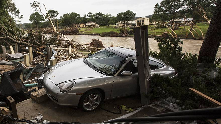 Halálos áradások Texasban