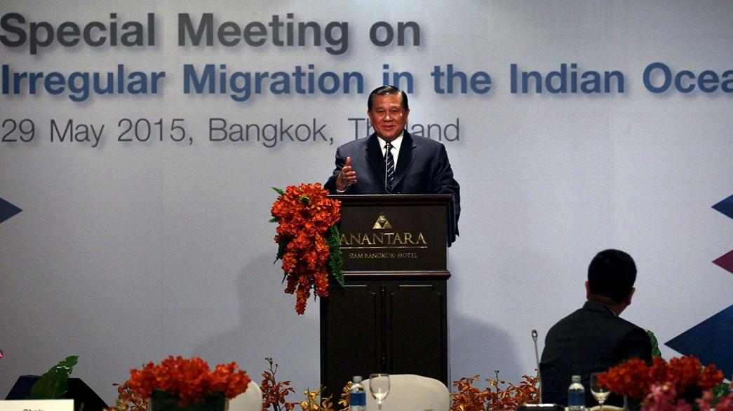La cumbre del Sudeste Asiático sobre inmigración evita referencias explícitas a los rohinyá