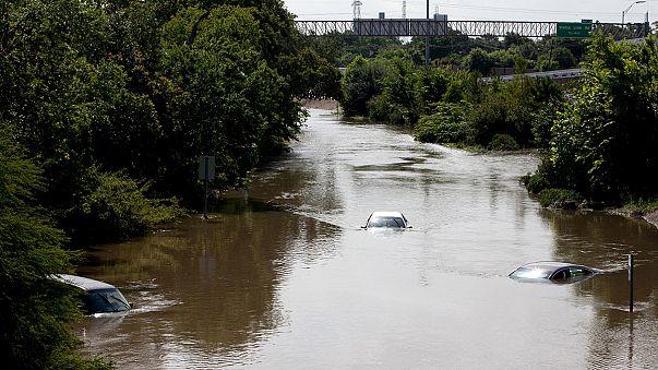 Texas: katasztrófa sújtotta terület