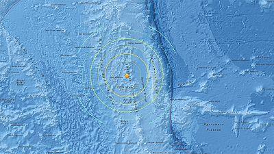 Magnitude 8.5 quake strikes off eastern Japan