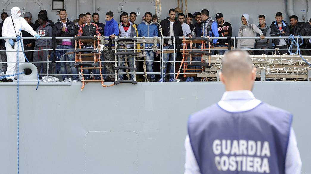 More than 4,000 migrants rescued in 24 hours in Mediterranean