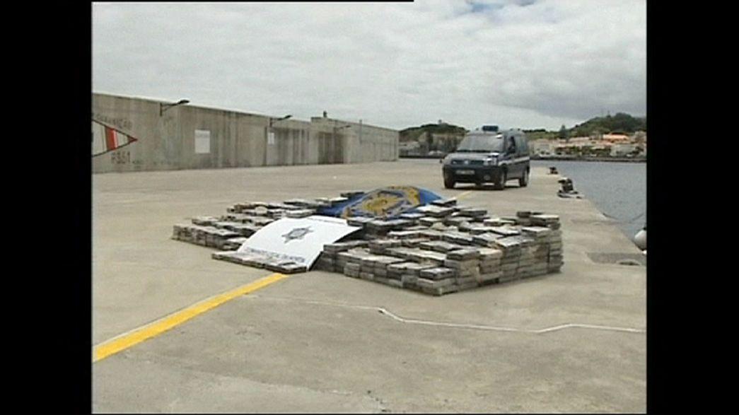 Portekiz'de 3 milyon Euro değerinde uyuşturucu ele geçirildi