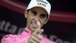 Giro d'Italia'nın bitmesine bir etap kaldı, Alberto Contador liderliğini korudu