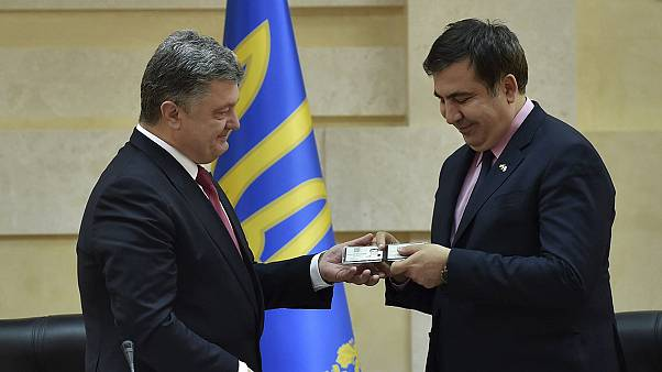 Ex-Georgian President Sakaashvili appointed governor of Ukraine's Odessa region
