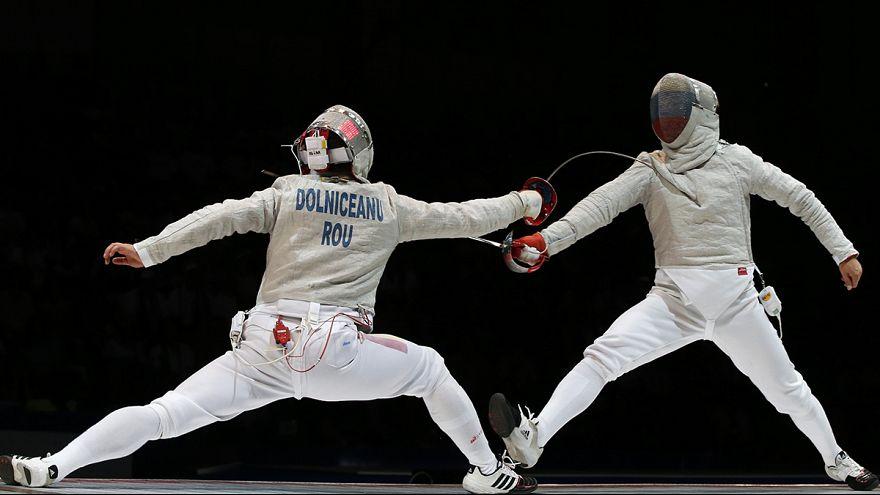 Tiberiu Dolniceanu ganador del Gran Premio de esgrima en Moscú