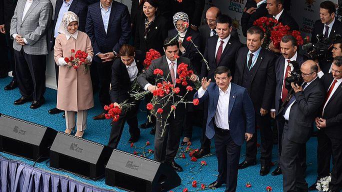 Стамбул: митинги правящей партии и новой оппозиции
