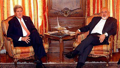 """Atomstreit: Kerry führt """"konstruktive"""" Gespräche mit Irans Außenminister"""