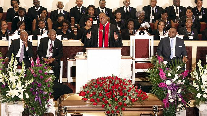 Final farewell to B.B. King - with Lucille in attendance