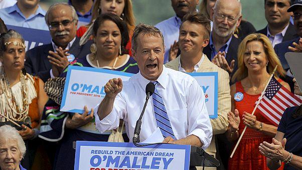 Etats-Unis : Martin O'Malley sur la gauche d'Hillary Clinton pour l'investiture démocrate