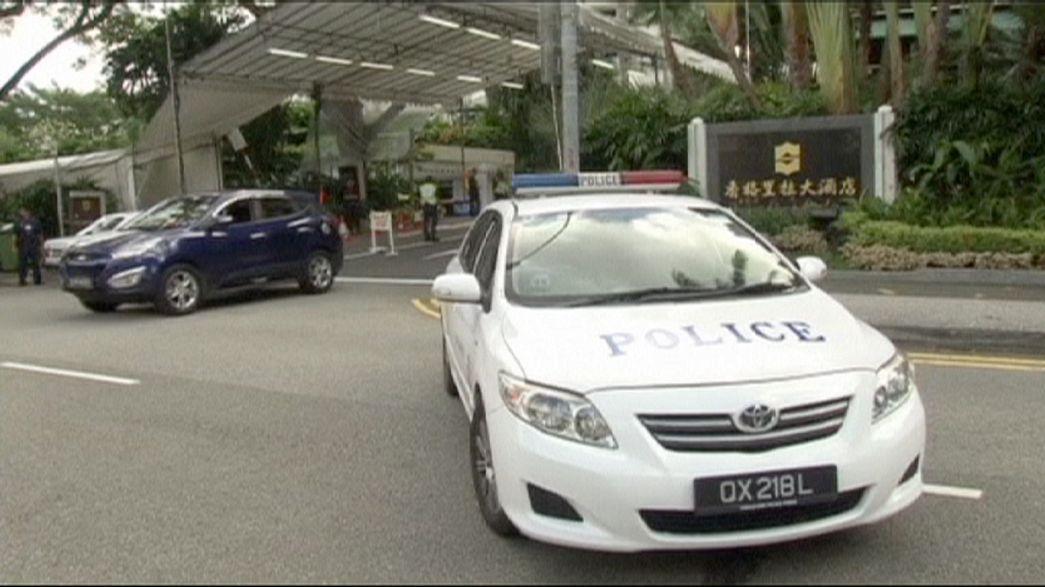 Un hombre muere abatido por la policía de Singapur cerca del hotel del secretario de Defensa estadounidense