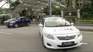 سنگاپور؛ تیراندازی پلیس در نزدیکی محل نشست بلندپایه امنیتی