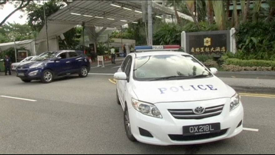 Man shot dead outside security summit in Singapore