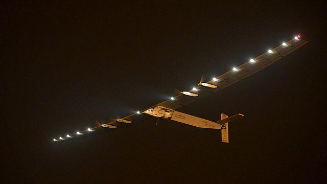 Solar Impulse 2 begins Pacific crossing