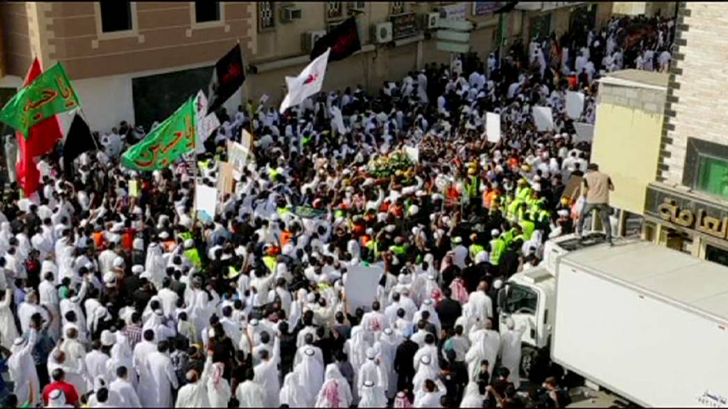 Miles de chiíes saudíes denuncian en las calles los atentados contra su comunidad