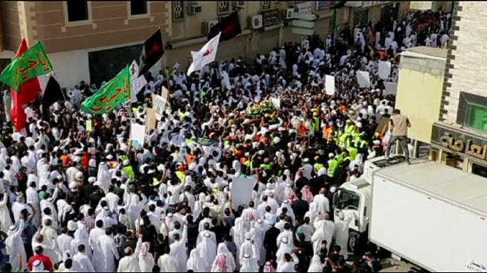 Anti-Shi'ite sectarianism condemned at Saudi Arabia bomb victim's funeral