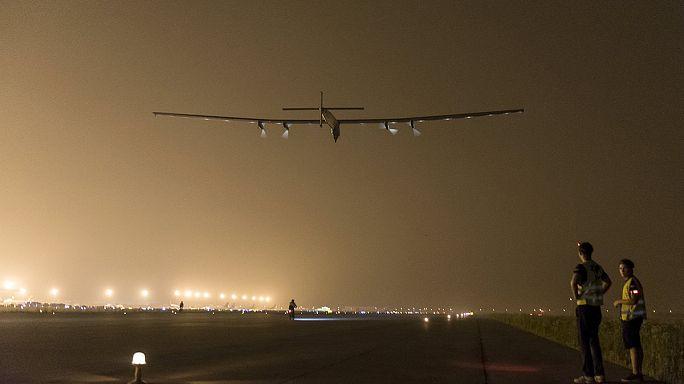 Hawaii felé tart a napelemes repülő