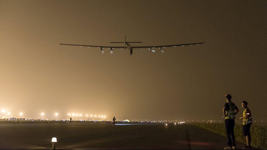 """طائرة """"سولار امبلس 2"""" تغادر الصين إلى هاواي"""